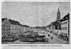Berlin, Neuer Markt um 1780, A0136