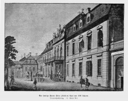 Berlin, Palais Prinz Friedrich Karl um 1780