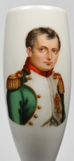 Napoleon Bonaparte (1769-1821), Portrait, Porzellanmalerei, Pfeifenkopf, D2121