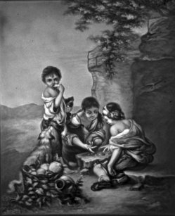 1891 – Kinder beim Würfelspiel nach Murillo