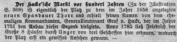 Berlin, Der Hacke`sche Markt um 1785, Kommentar