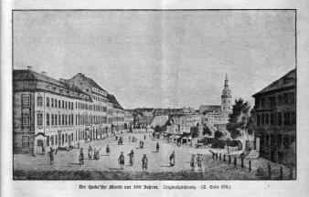 Berlin, Der Hacke`sche Markt um 1785, A0151