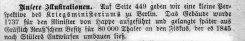 Berlin Kriegsministerium Leipzigerstraße um 1885, Kommentar