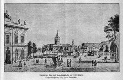 Berlin, Lustgarten, Dom und Schloßapotheke um 1785, A0148