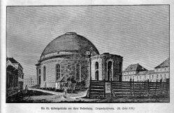 Berlin, St Hedwigskirche um 1773, A0145