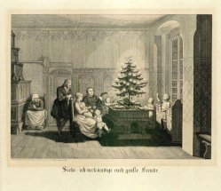 Carl August Schwerdgeburth (1785-1878), Ich verkündige euch große Freude, Stahlstich 1843, A0158