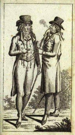 Daniel Nikolaus Chodowiecki (1726-1801), Porzellanpfeifen-Raucher 1796, A0160