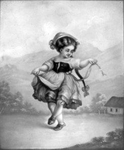 PPM 792 - Tanzendes Mädchen