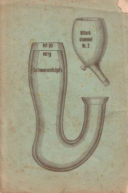 Porzellan-Manufaktur und Pfeifenfabrik Engler, Linz a.D. Preis-Kurant um 1900, D0974-Umschlag 4