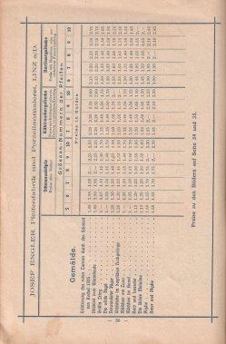 Porzellan-Manufaktur und Pfeifenfabrik Engler, Linz a.D. Preis-Kurant um 1900, D0974-S 36