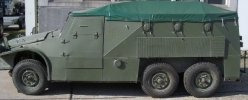 Schützenpanzerwagen für Kinder, SPW 152, Trabant, HalleSaale