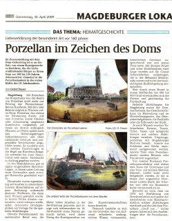 30.04.2009 Porzellan im Zeichen des Domes