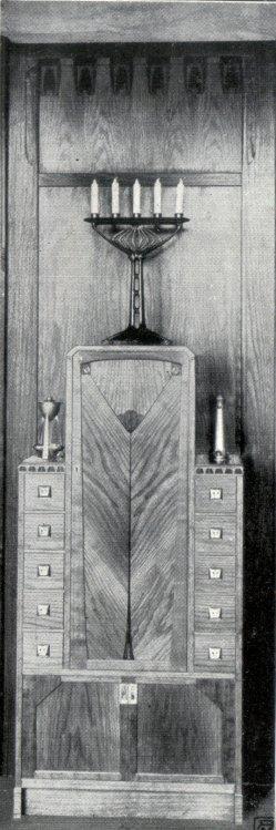 Albin Müller, Einzel-Möbel 1, 1904
