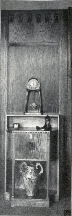 Albin Müller, Einzel-Möbel 2, 1904