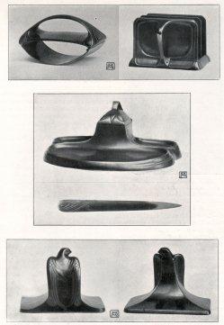 Albin Müller, Schreibtisch-Geräte 1904
