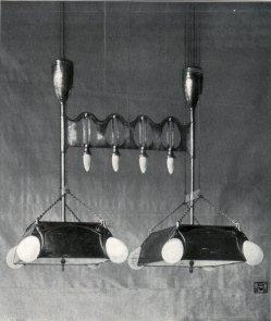 Albin Müller, Verstellbarer Beleuchtungskörper 1904