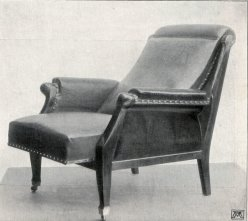 Albin Müller, Verstellbarer Lehnstuhl 1904