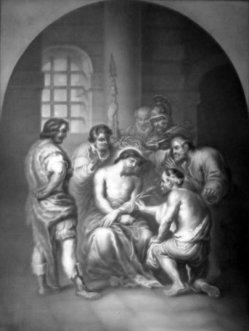 KPM 322 - Die Verspottung Christi nach van Dyck