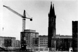 Magdeburg, Sprengung der Ulrichskirche 5.April 1956, D2209-1