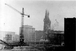 Magdeburg, Sprengung der Ulrichskirche 5.April 1956, D2209-2