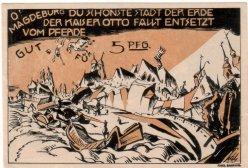 Oswald Pohl (1887-1959), Kaiser Otto fällt entsetzt vom Pferde, Magdeburg 1922, D2208-5h