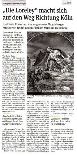 03.08.2013 Die Loreley macht sich auf den Weg Richtung Köln