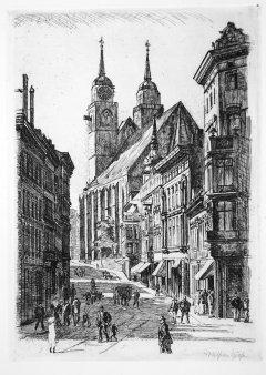 Wilhelm Giese (1883-1945), Magdeburg Johannesberg 1912 (265)