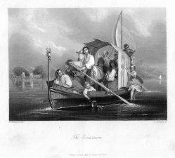Albert Henry Payne (1812-1902), The Excursion, Stahlstich nach W. Schmidt, D2242-1