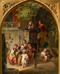 Isaac Julius Jacob d. Ält. (1811-1882), Albrecht Dürer und seine Familie, Gemälde, A0202