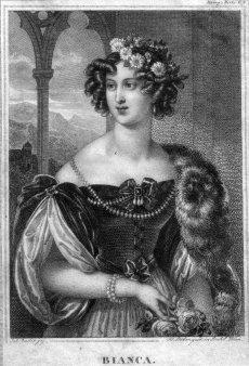 Franz Xaver Stöber (1795-1858), Bianca, Stahlstich nach J. Ender, D2267-16