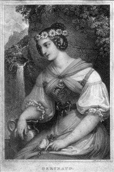 Franz Xaver Stöber (1795-1858), Gertraud, Kupferstich nach J. Ender, D2267-11