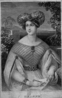 Franz Xaver Stöber (1795-1858), Helene, Stahlstich nach J. Ender, D2267-02