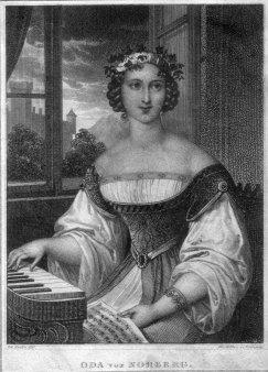 Franz Xaver Stöber (1795-1858), Oda von Norberg, Kupferstich nach J. Ender, D2267-14