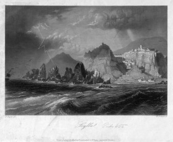 William French (1815-1898), Scylla, Stahlstich nach A, Geyer, D2269-1