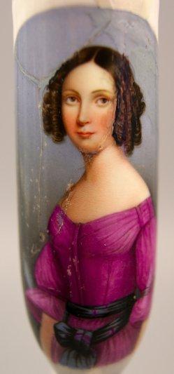 1155 Frauenportrait mit Gürtel Detail