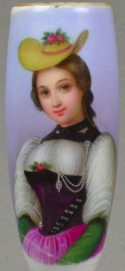 Joseph Johann Sutter (1781-1866), Berne Nr. 2, Porzellanmalerei, Pfeifenkopf, D1170