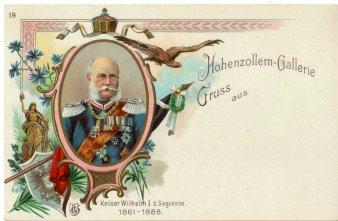 Kaiser Wilhelm I. d. Siegreiche (1861-1888), Portrait, AK, D2080-18