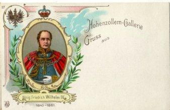 König Friedrich Wilhelm IV (1840-1861), Portrait, AK, D2080-17