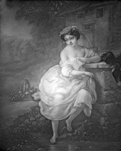 PPM 461 – Badendes Mädchen