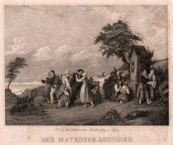 Der Matrosen Abschied, Stahlstich, D2205-4