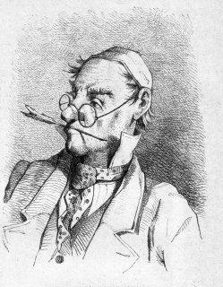 E. Seifferth, Gerichtsschreiber, Holzstich nach J. Adam, D2315a