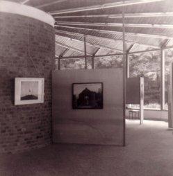Kunstpavillon Heringsdorf 1979, Manfred Kastner, Gemälde , Hommage a Delvaux, D0096b