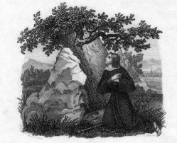 Carl Heinrich Rahl (1779-1843), Illustration, Stahlstich nacu L. Schnorr v. Carolsfeld, D2377-8