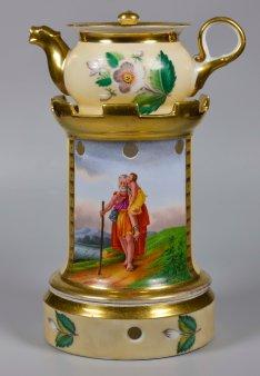 François-Pascal Simon, Baron Gérard (1770-1837), Belisar, Porzellanmalerei, Stövchen, D2346