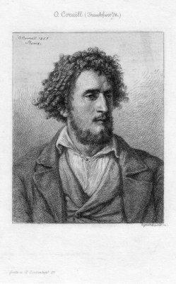 Johann Kaspar Eissenhardt (1824-1896), Italienischer Studienkopf, Radierung nach O. Cornill, D2376-10
