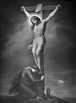 PPM 753 - Christus am Kreuze, nach A. W. Schulgen