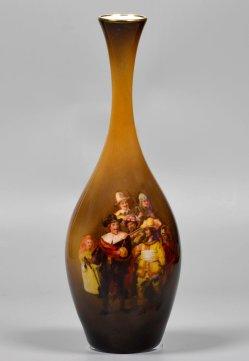 Rembrandt Harmensz van Rijn (1606-1669), Die Nachtwache, Abziehbild, Vase, D2381