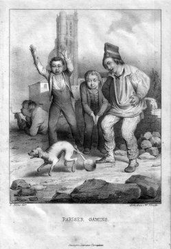 W. Pobuda, Pariser Gamins, Lithographie nach F. Elias, D2363-9.jpg