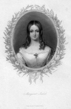 H. Robinson, Halbportrait Margaret Isabel, Punktierstich nach G. Hering, D2339-10