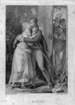 August Hoffmann (1810-1872), Faust, Stahlstich nach W. Kaulbach, D2421-6